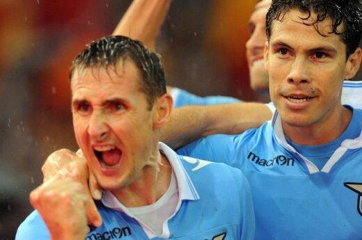 """Miroslavas Klose (""""Lazio"""")"""