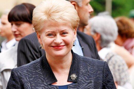 Один год работы президента Литвы и два лица