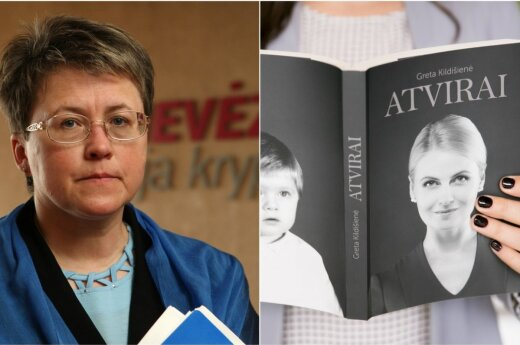 Gema Umbrasienė (JP nuotr.) ir G. Kildišienės knyga