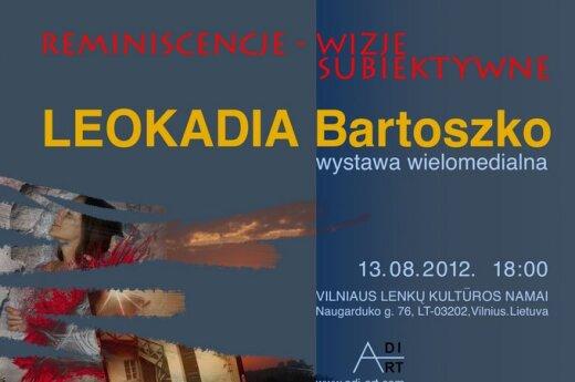 Wystawa Leokadii Bartoszko, fot. organizatorzy