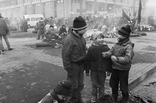 Romualdo Požerskio nuotrauka (1988-1993)