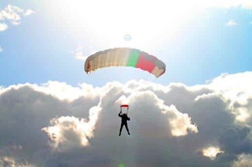 В Вильнюсском районе погиб парашютист