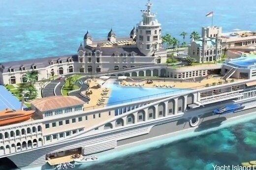 Для постройки суперяхты с дворцами не хватает $400 млн.