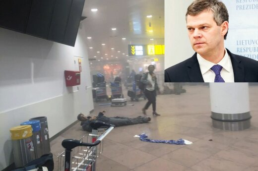 VSD vadovas dėl teroro Briuselyje: braižas panašus, taktika panaši