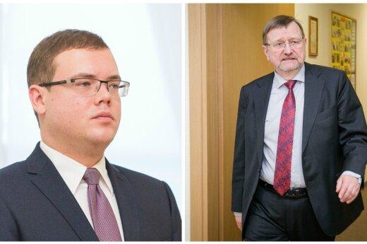 Julius Pagojus ir Juozas Bernatonis