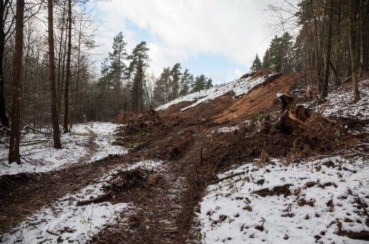 Важные перемены: в Вильнюсе началось строительство новой дороги
