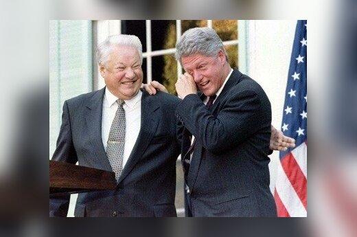 Rusija tikėjo Jelcinu, o gavo hiperinfliaciją, biurokratus ir verslininkus-vagis