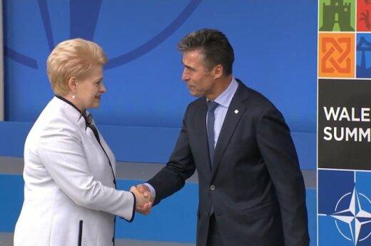 Dalia Grybauskaitė, Anders Fogh Rasmussen