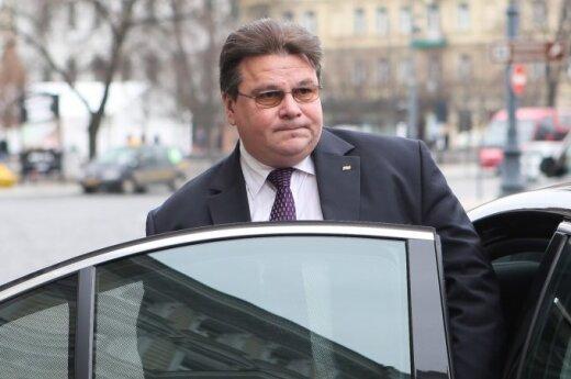 Глава МИД Литвы: реализация санкций отложена по просьбе Украины