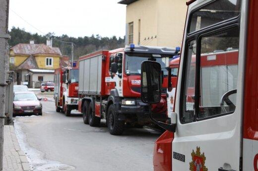 В Алитусе из дома эвакуировали жителей, один человек погиб