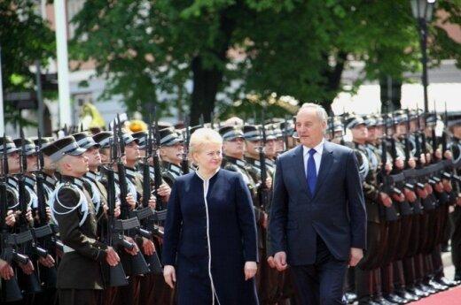Грибаускайте: мы не стремимся как можно быстрее ввести евро