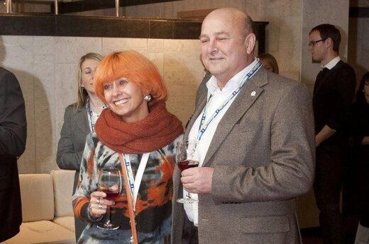 Irena Matijošaitienė su vyru Visvaldu