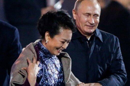 Vladimiras Putinas, Peng Liyuan