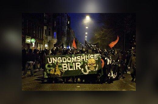 Jaunimo protestas Kopenhagoje