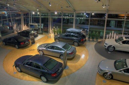 Automobilių salonas
