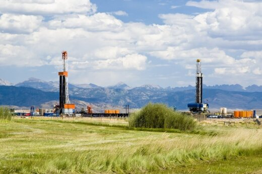 Oil and gas drilling in Wyoming