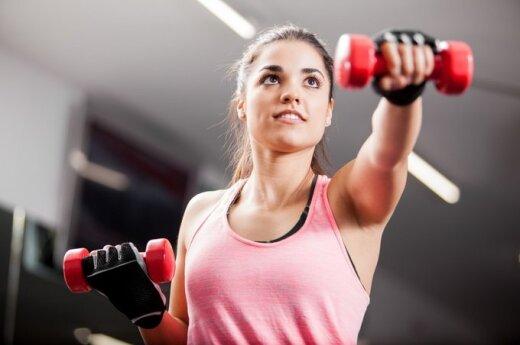 mergina, treniruotė, sportas