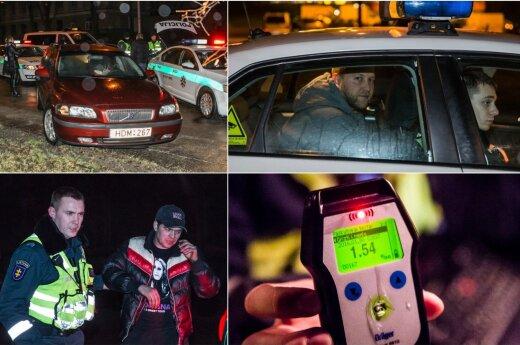 """Naktis Vilniaus gatvėse: iš girto """"Barclays"""" darbuotojo policija atėmė visureigį"""