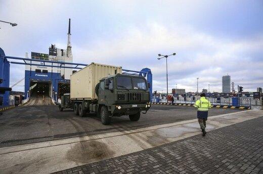 Liuksemburgo karinė technika keliauja į Lietuvą