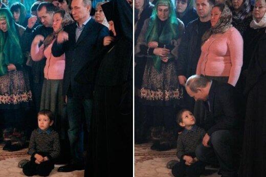 Рождественское фото Путина с испуганным мальчиком насмешило Запад