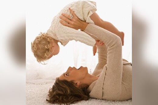 Среднее пособие по материнству – около 2500 литов