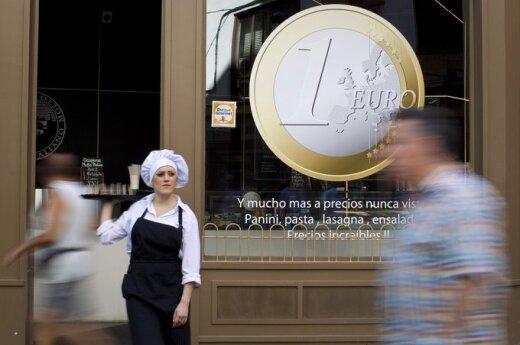 ECB: euro zonos finansinė integracija 2016 m. sulėtėjo