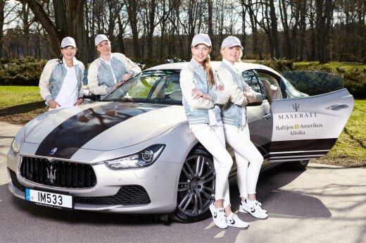Baltijos Amerikos klinikos ekipažas Moterų ralyje