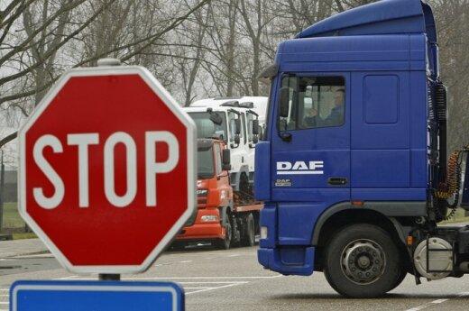 Lietuvos vežėjams - nauji Rusijos apribojimai