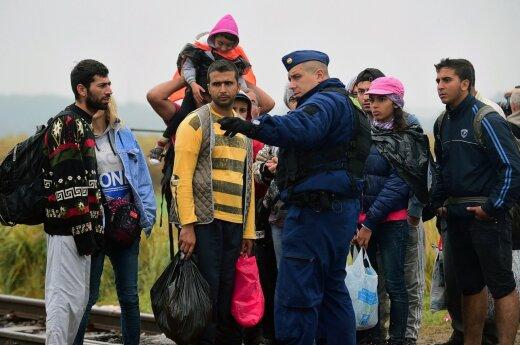 ЕС уговаривает страны Центральной Европы принять беженцев
