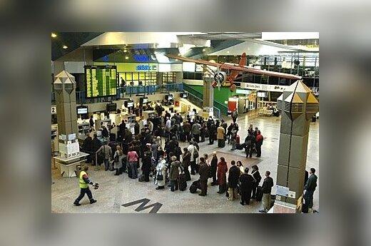 Dublino oro uostas isvykimas