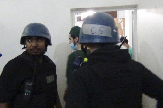 JT ekspertų grupė Sirijoje