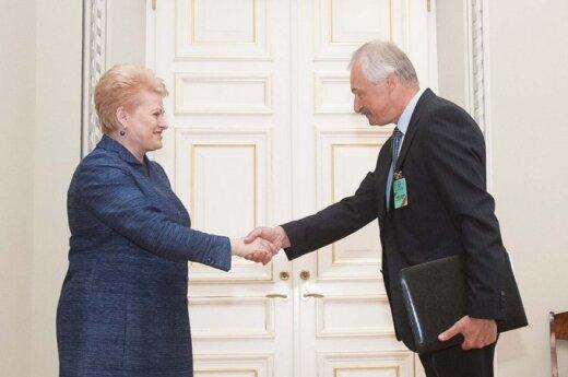 Grybauskaitė zaaprobowała Gustasa