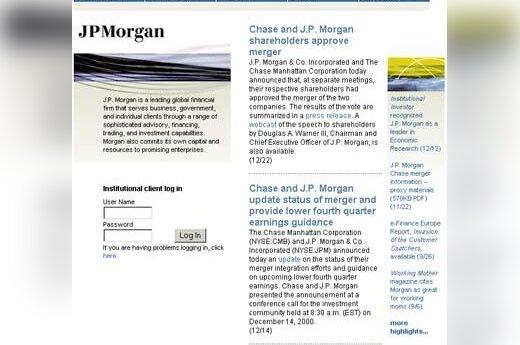 """""""J.P.Morgan"""""""