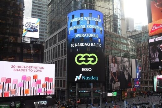 ESO logo appeared in New York's Times Square