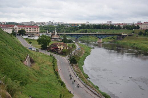 Vaizdas nuo Senosios pilies
