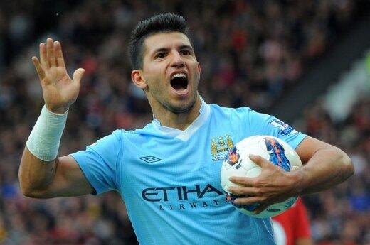 """Sergio Aguero (""""Man City"""")"""
