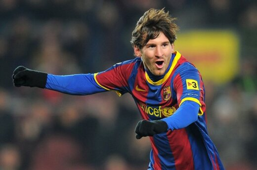 "Lionelis Messi (""Barcelona"")"