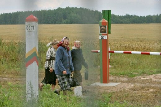 Belorussian Lithuania border