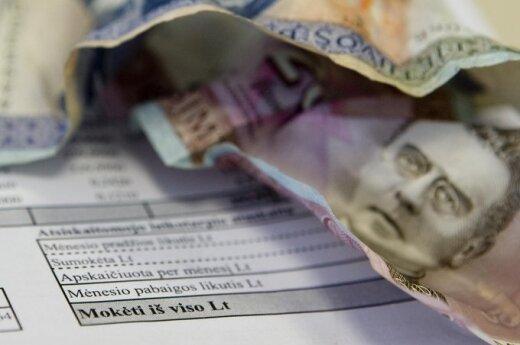 12,4 proc. mieszkańców Litwy więcej wydaje niż zarabia