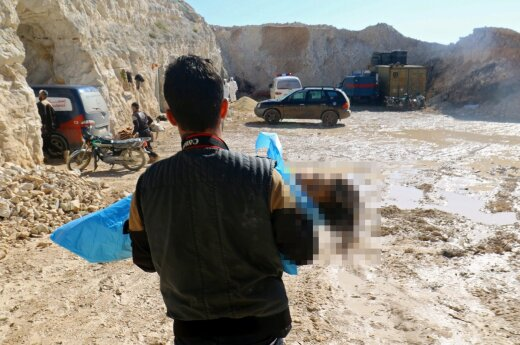 Pentagonas neabejoja, kad Sirija dar turi cheminių ginklų
