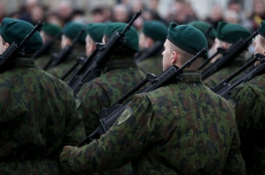 Over 200 Lithuanians volunteer for military service