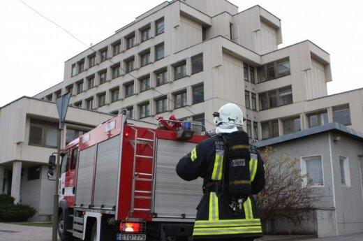 В Сейме возник небольшой пожар, съехались пожарные