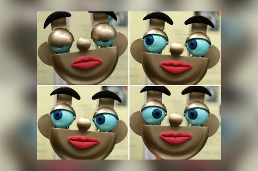 Skirtingos roboto veido išraiškos