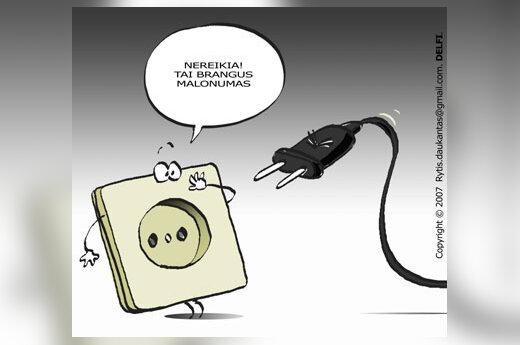 Elektra, elektros brangimas