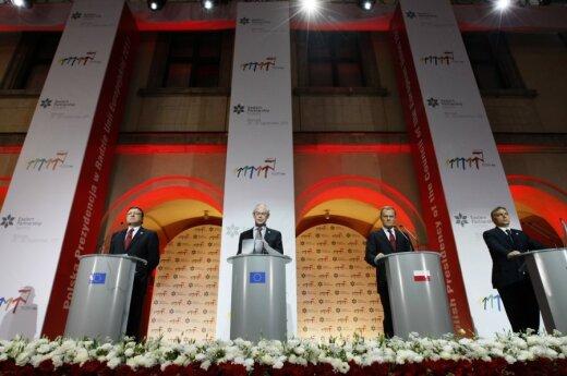 Europos Sąjungos  ir Rytų partnerystės šalių vadovų susitikimas