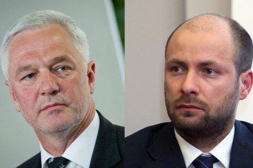 Vitas Matuzas ir Andrius Romanovskis