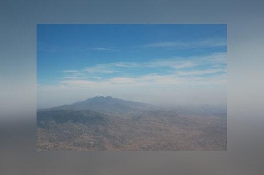 Kalnai, dangus