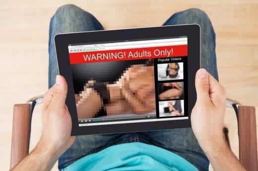 Britanija įpareigos pornografines svetaines užtikrinti, kad jų lankytojai yra pilnamečiai