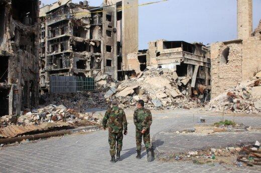 Rusija trimis valandomis ilgina paliaubas Alepo mieste