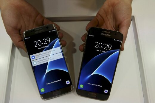 Samsung S7 ir S7 Edge pristatymas